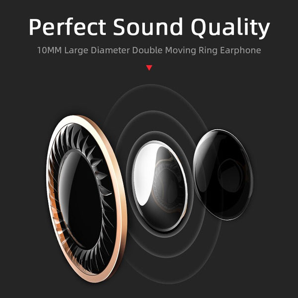 New TWS Wireless Bluetooth Earphones 6D Stereo Headset Bluetooth Headphones With Mic Charging Box