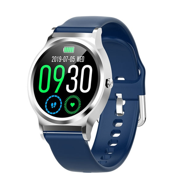 New 1.3'' Full Touch Screen IP67 Waterproof Weather Forecast Digital Wrist Smartwatch