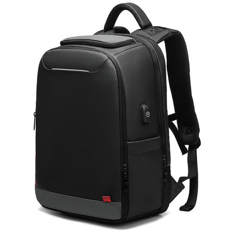 New 15.6''USB Charge Multi-Layer Backpack Travel Bag Casual Business Mochila
