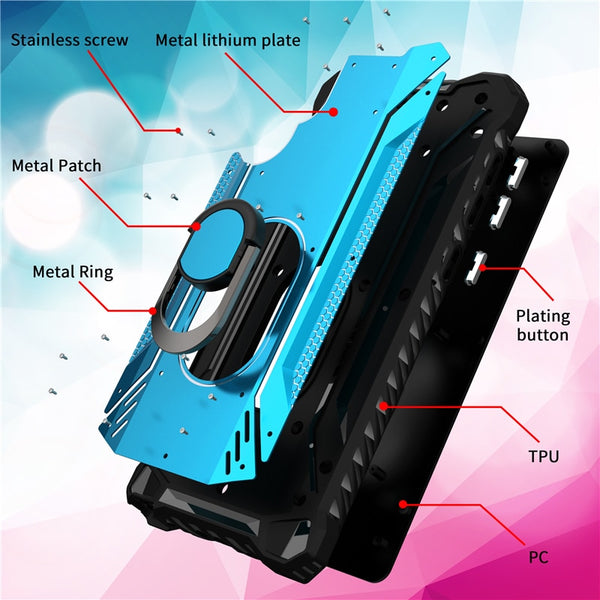 New Rugged Shockproof Ring Holder Phone Case Cover Bumper For Samsung Galaxy S20 S10 Series