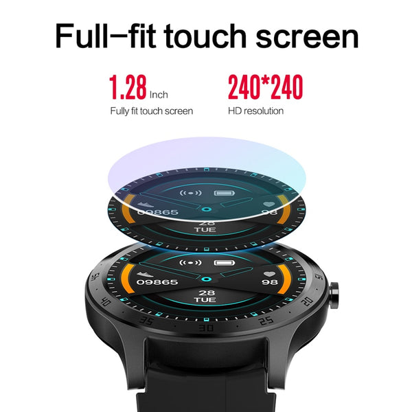 New Women's Smart Watch Fitness Tracker Heart Rate Monitor Full Touch Screen Sport Pedometer