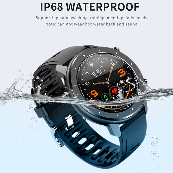 New IP68 Waterproof Sport Smart Watch Touch Screen Smart Bracelet Fitness Tracker Smartwatch