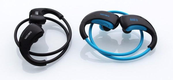 New Dynamic Flexible Sports Headphone Ear pods Water-Resistant Wireless Headset