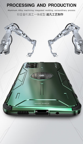 New Ultra Metal Armor Shock Dirt-Resistant Phone Case For Samsung Galaxy S20 Plus Ultra Series