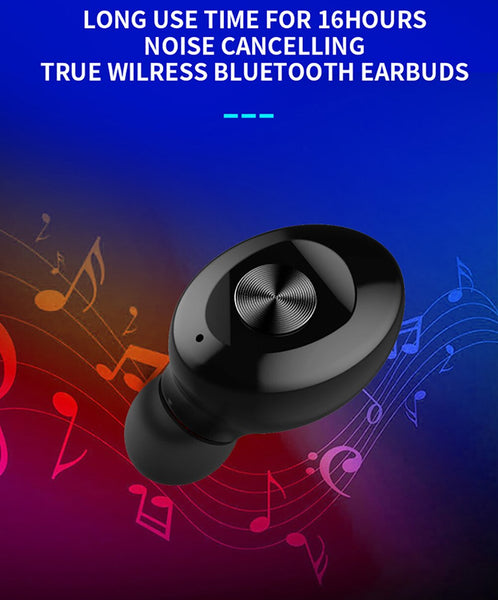 New Wireless HIFI Stereo Sport Earphones Handsfree Gaming Headset Wth Mic For iPhone Android Samsung