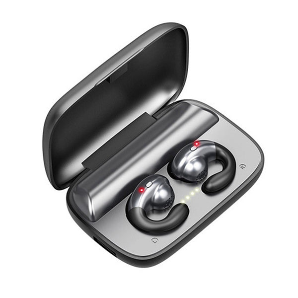 New Bone Conduction Bluetooth Wireless Earphone Headset With Charging Box