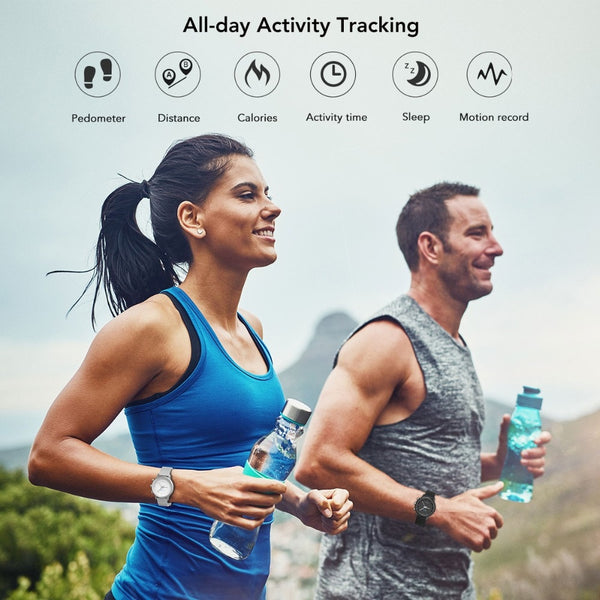 New Activity Fitness Tracker Hybrid Smartwatch With Pedometer For iPhone Androids Samsung