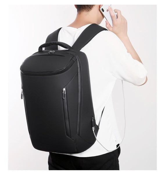 New Large Capacity 17'' Laptop Sleeve USB Charger Smart Backpack