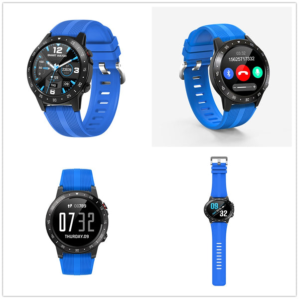 New GPS Barometer Compass Bluetooth Fitness Tracker Smart Watch For Android iPhones