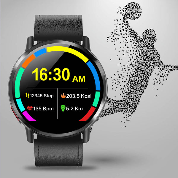 New 4G Android 7.1 8.0MP Camera Quad Core Fitness Tracker WIFI GPS Smart Watch