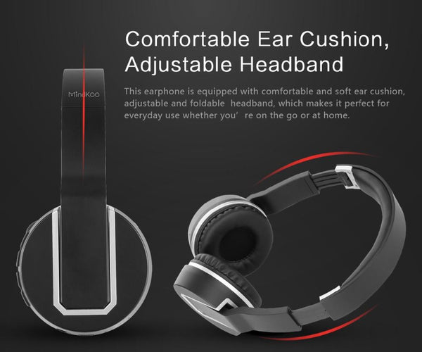 New Wireless Bluetooth Stereo Remix Headphone Headset for iPhones Androids Smart Phones