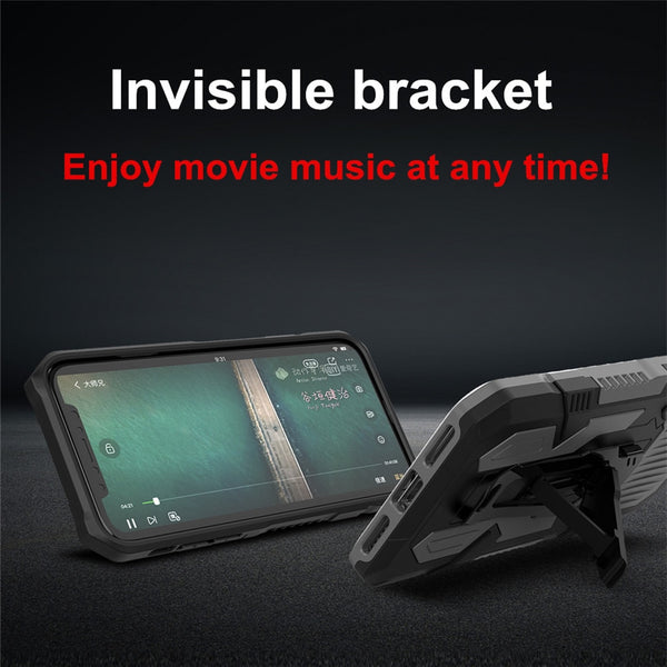 New Military Shock-Resistant Magnetic Ring Bracket Phone Case For iPhone 11 Pro XS Max XR SE 2020