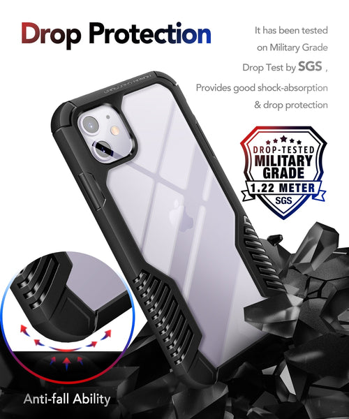 New Rugged Heavy Duty Shock-Resistant Protective Cover For iPhone 11 Pro Max Series