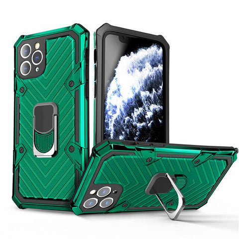 New Shockproof Kickstand Armor Bumper Case For iPhone 12 11 Pro XR XS Max Series