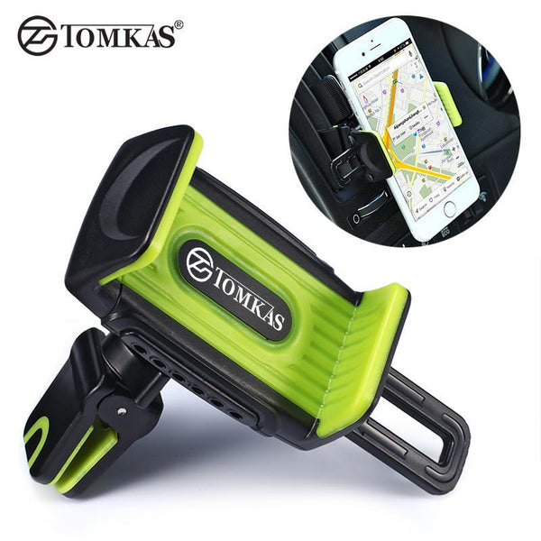 TOMKAS Air Vent Car Phone Holder Stand Holder Mount 360 Rotation For iPhone 6 Plus