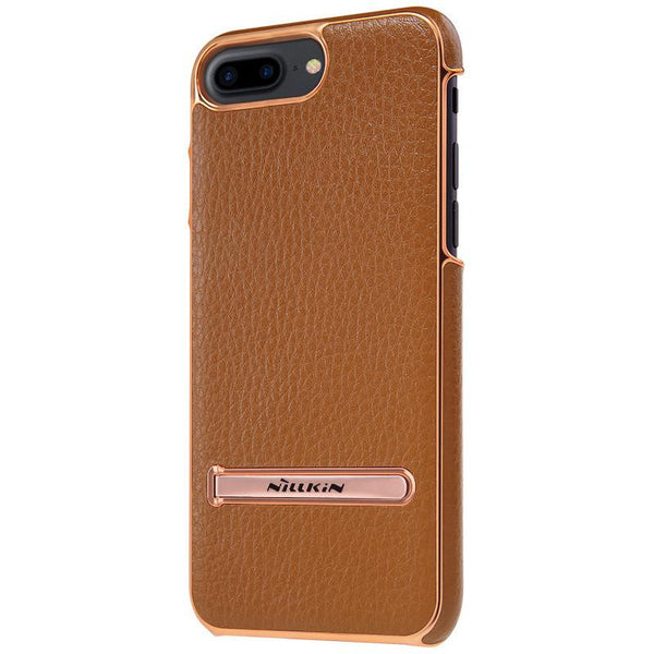 New Leather Case for iPhone 7 Plus Leather Case with Adjustable Metal Stand