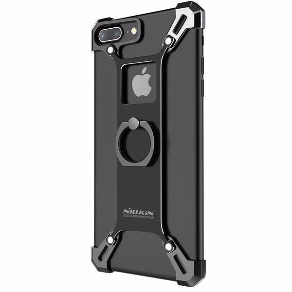 New Stylish Alloy Smart Luxury Case with Ring Kickstand for Apple iPhone 6 / 6S / 7 / 7 Plus / Huawei