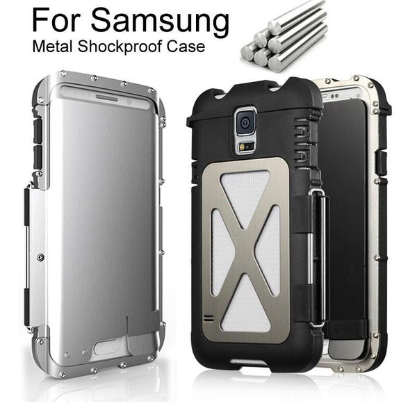 Armor King Premium Metal Shockproof Case for Samsung Galaxy S5 S6 S7 / EDGE / Note 4 5