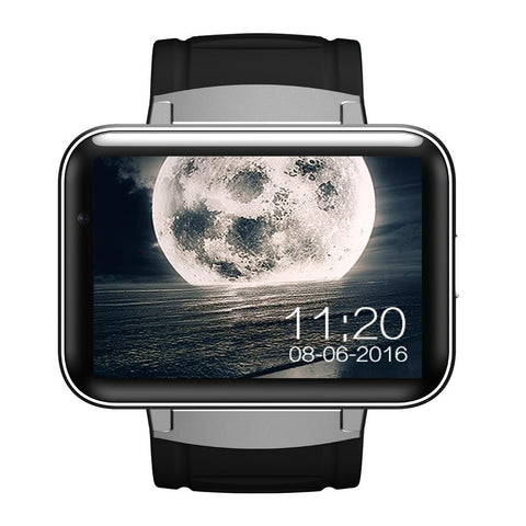 NEW ARRIVAL - Enhanced Screen Bluetooth Smart Watch Android OS 3G 4GB ROM Camera with Distance GPS Dual Core 1.2GHz