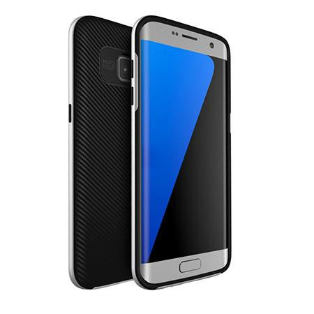 Hybrid Armor with Silicon Back Cover Protective Layered Shell For Samsung S7/Edge