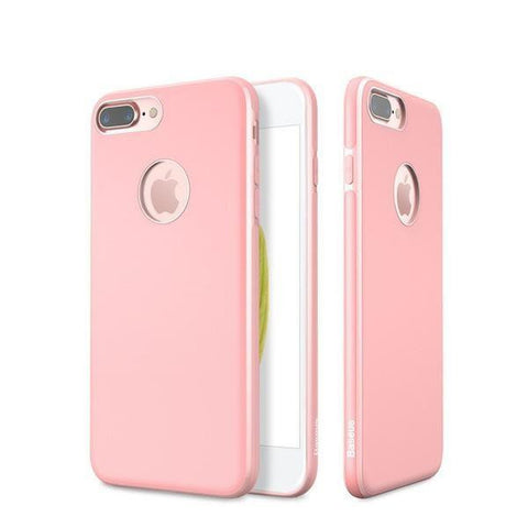 New Luxury Full Body Case Coque with Ultra Thin Soft TPU Back Cover Shell for iPhone 7/Plus
