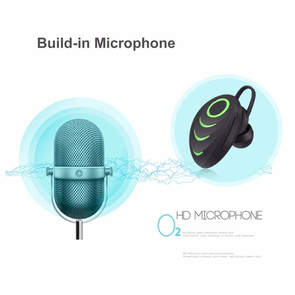 New Wireless Bluetooth One-Piece Earphone Speakerphone with Smart ...