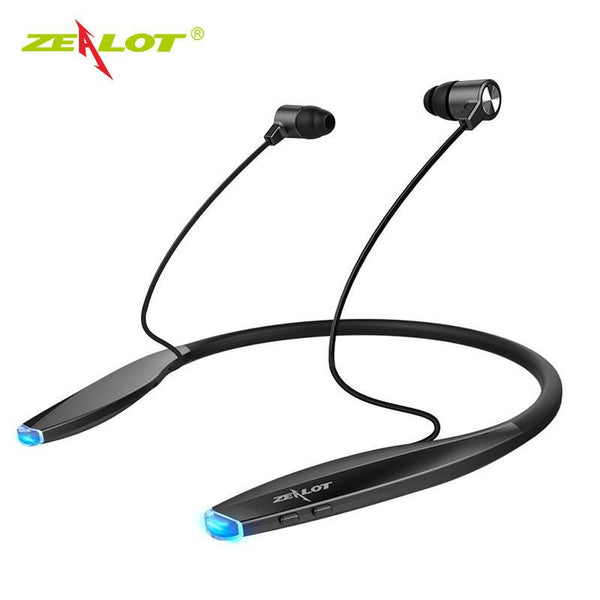 New Bluetooth Ultra Lightweight & Slim Wireless Neckband Sport Magnetic Earbuds