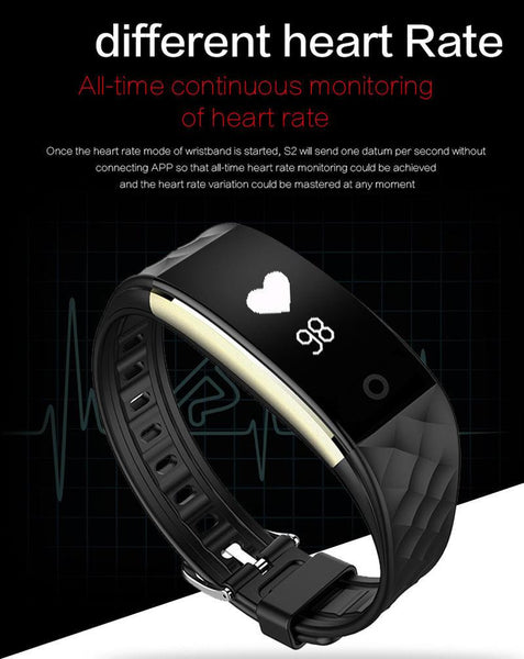 New Smart Band Bracelet Wristband With Heart Rate Monitor For iPhone Android Xiaomi Huawei