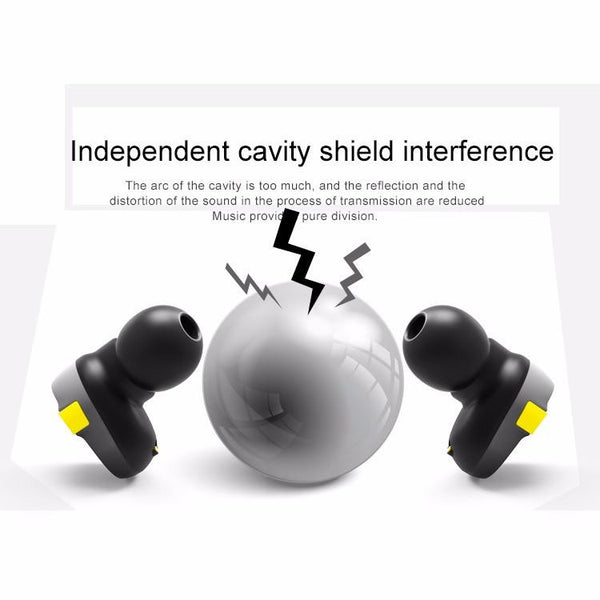 New Wireless Mini Bluetooth Earbuds Earphone Headset with Case for IOS Androids and Windows