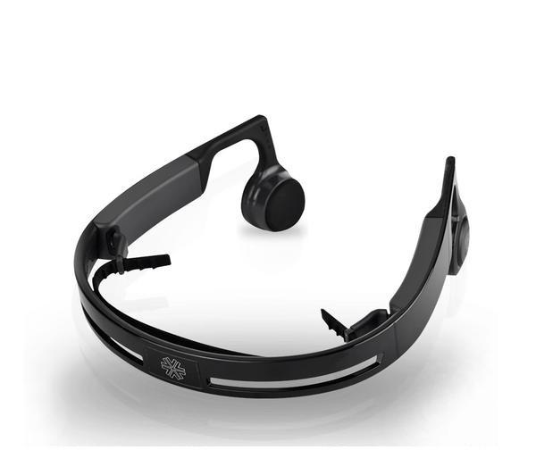 New Bone Conduction Headphone Bluetooth 4.1 Earphone Outdoor Sports Headsets Sweatproof Hands-free with Mic