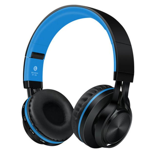 New Wireless Bluetooth Headphone Foldable Stereo Headsets with Mic Support TF Card Headphones
