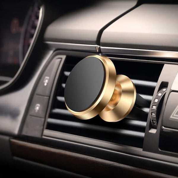 New Magnet Air Vent Car Phone Holder Stand - Universal Mount for iPhone Samsung & All Other Android & Windows Smartphones