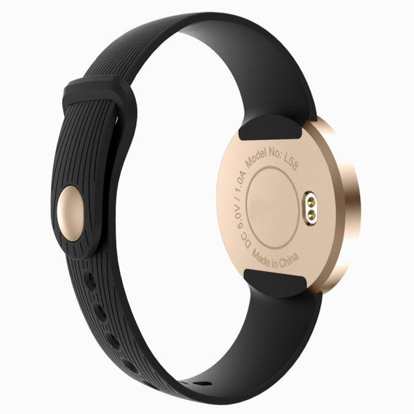 New Oval Smart Bracelet Monitor Waterproof Bluetooth Smartwatch with Notifier Sync for Android IOS