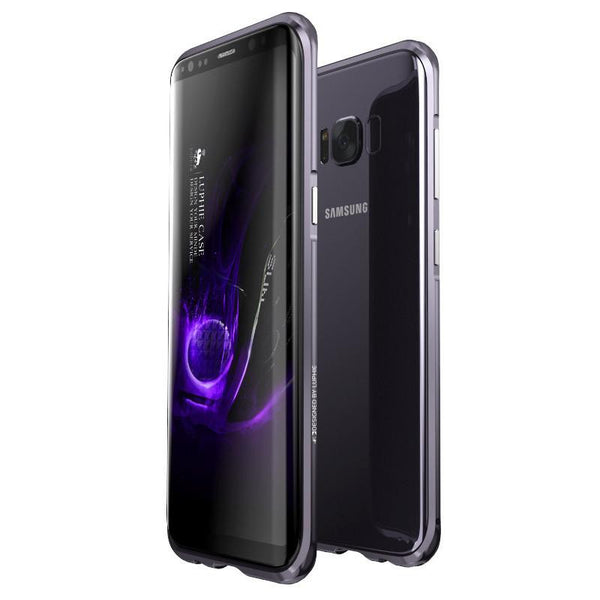 New Ultra Slim Aluminum Metal Frame Shockproof Bumper Case with Full Edge Protection for Samsung Galaxy S8