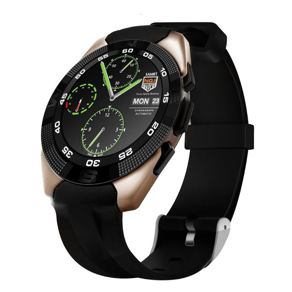 Premium Bluetooth Sport Smart Watch  with Heart Rate Monitor Pedometer Fitness Tracker SMS Call Reminder