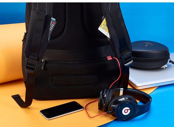 New 17 Inch Water-Resistant Backpack for Laptops and Travels with Battery Slot for USB Charging