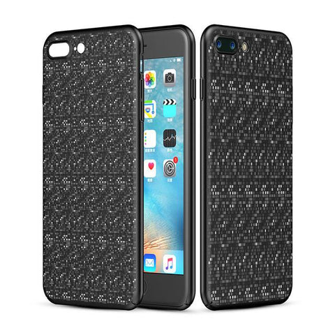 New Stylish Luxury Thin Plaid Dirt-Resistant Case Back Cover for Apple iPhone 7 & 7 Plus