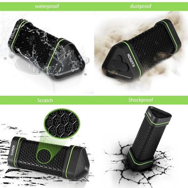 New Mini Outdoor Water-Resistant Bluetooth Wireless Portable Mini Shockproof Speaker Stereo Subwoofer