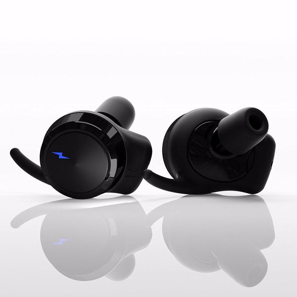 New True Wireless Bluetooth 4.2 Earbuds Sport Headset In-Ear Noise Cancelling Earphone with Surround Sound
