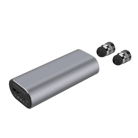 NEW ARRIVAL True Wireless Stereo TWS Mini Bluetooth headset Stereo Earphone with 2100mAh Charge Case