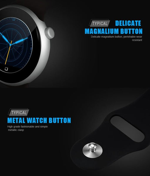 New Professional Waterproof Swimming Bluetooth Smartwatch with Gesture Control Heart Rate Monitor for IOS Android