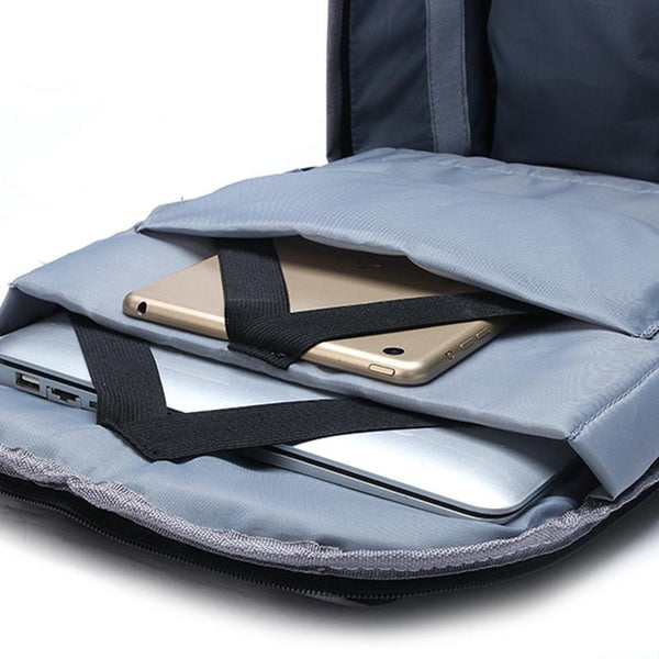 New Daytime Waterproof Travel Anti-Theft Laptop Bag with USB Charging Port & Notebook Computer Case Sleeve