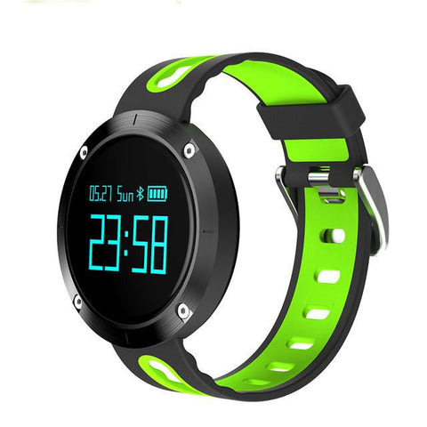 New Bluetooth Heart Rate Smart Wristband with Blood Pressure Monitor Fitness Tracker