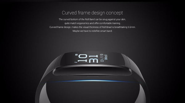 Waterproof Smart Band Heart Rate Monitor Smart Wristband Bracelet - Android Fitness Tracker