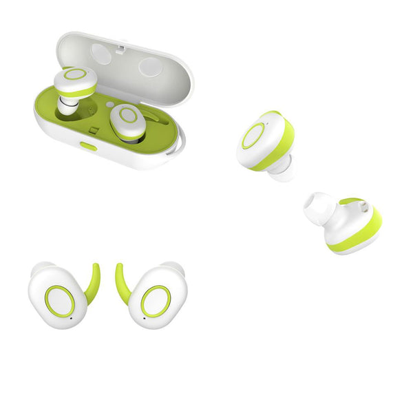 New Sports TWS Earbuds True Wireless Earphone Twins Bluetooth Headsets Airpods Style Portable for iPhone and Androids