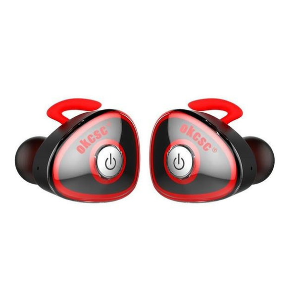 Ultra Light True Wireless Sport Bluetooth Earphone Stereo Twins In Ear Earbuds with Microphone for IPhones Androids Xiaomi