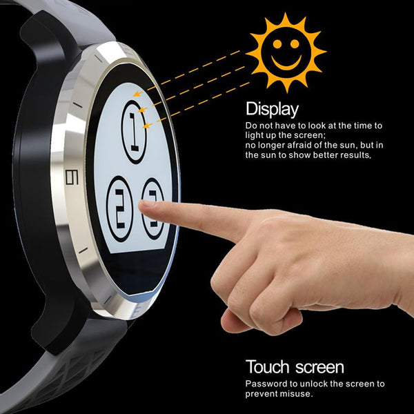 New Bluetooth Smart Watch Wristwatch for Android IOS Wearable Device Heart Rate Monitor Smartwatch Fitness Tracker