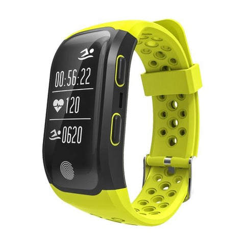 NEW ARRIVAL - Bluetooth GPS Smart Band IP68 Waterproof Smart Wristband Heart Rate Fitness Tracker Bracelet Pedometer