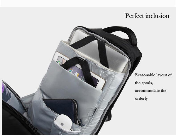 New USB Charge 15.6 Inch Laptop Computer New Anti-theft Password Lock Bag Backpack