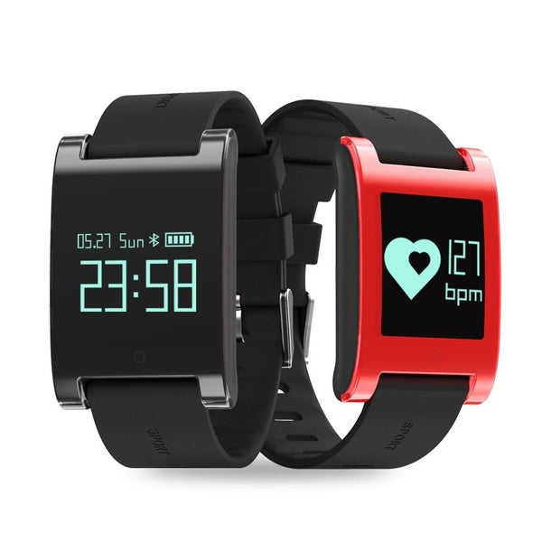 New Smart Watch Waterproof Bluetooth Smart Band Heart Rate Blood Pressure Monitor Pedometer for Android IOS